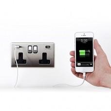 13A USB 充電插座 (孖位)